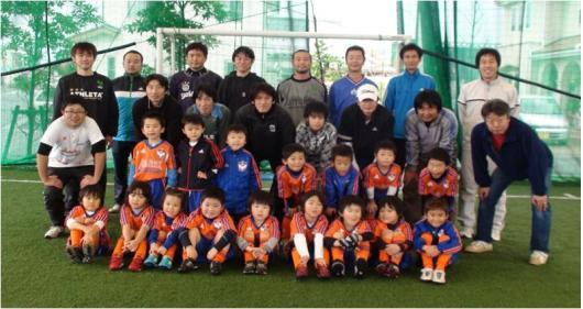 親子サッカー教室①